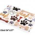 "Paws & Bones Pet Bed 54""x37"""