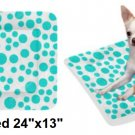 "Tiffany Dots Pet Bed 24""x13"""