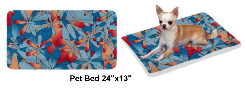"Hawaiian Bliss Pet Bed 24""x13"""