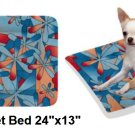 "Hawaiian Bliss Pet Bed 24""x13"""