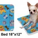 """Pooch'n Bones Pet Bed 18""""x12"""""""