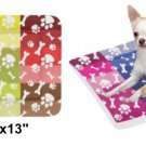 "Patchwork Paw & Bones Pet Bed 24""x13"""