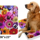 "Spring Bouquet Pet Bed 36""x23"""