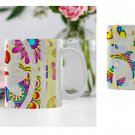 11 oz. Floral Cut Out Coffee Cup