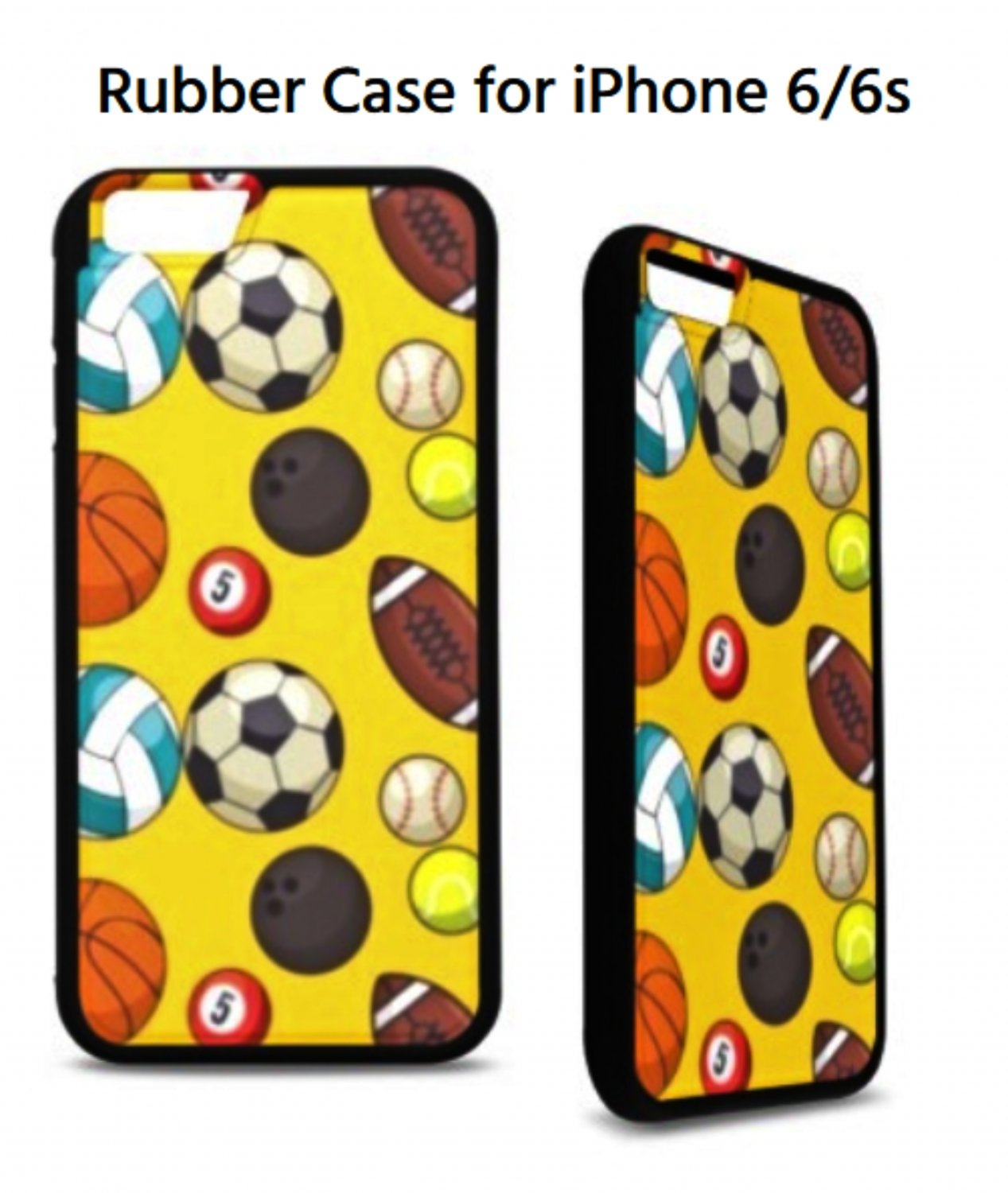 Sports Day Rubber Case for iPhone 6/6s
