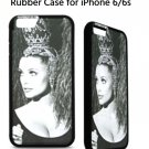 Sharon Tate Headdress Rubber Case for iPhone 6/6s