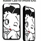 Betty Boop Rubber Case for iPhone 6/6s