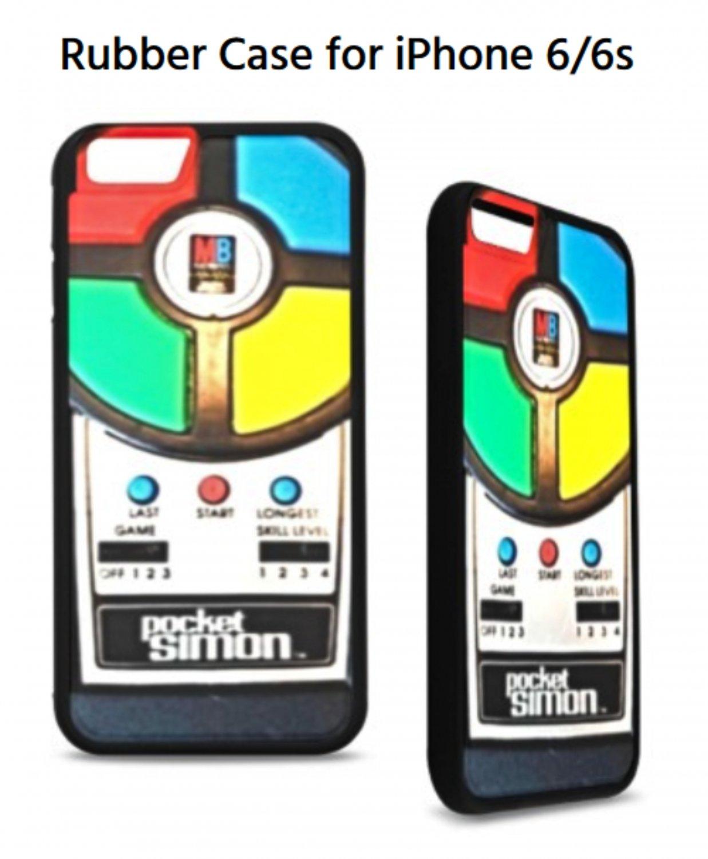 Vintage Pocket Simon Rubber Case for iPhone 6/6s