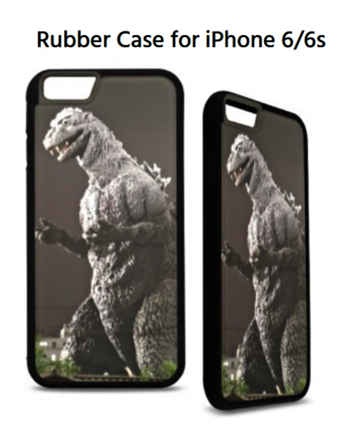 Godzilla Rubber Case for iPhone 6/6s