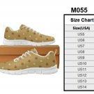 Men's Multi - Paw Print Running Shoes M055