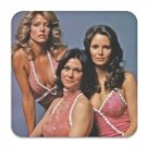 Charlie's Angels Square Coaster