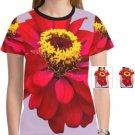 Red Zinnia / Lilac Women's T-shirt T45