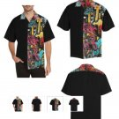 GRAFFITI ART S/S Camp Shirt M T 58