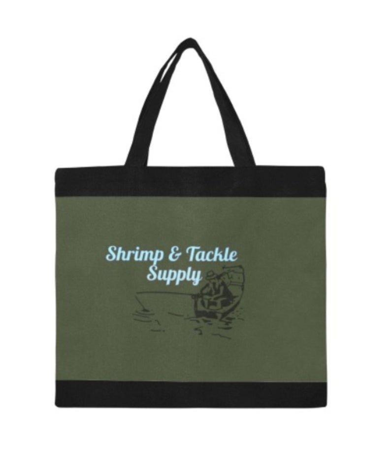 Shrimp & Tackle Supply Canvas Tote Bag - M1699