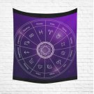 "Astrology Zodiac Backdrop Cotton Linen Wall Tapestry 60""x 51"""