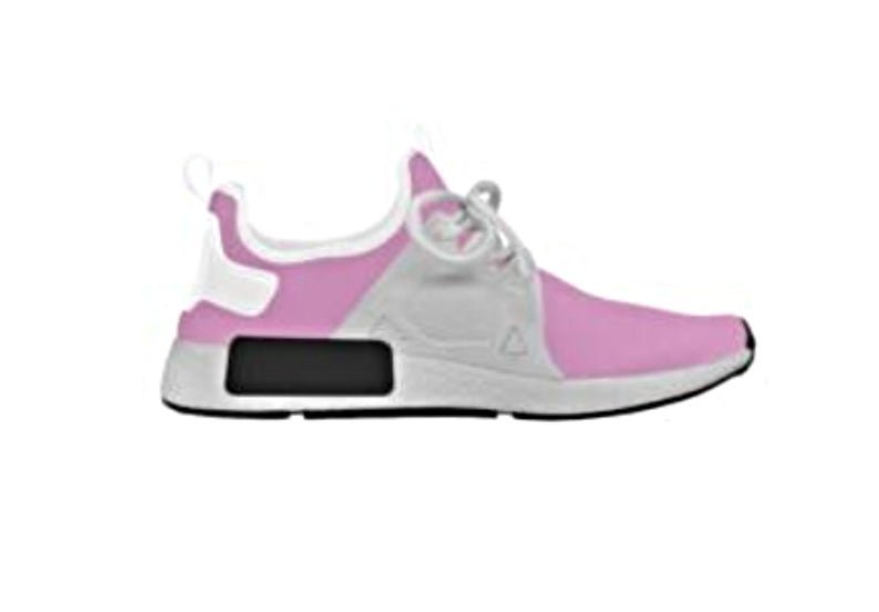 Women's Pink Curved Upper Trainers - M0251