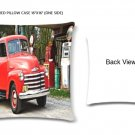 "Grandpa's Red Truck Zippered Pillow Case 16""x16""/ ONE side print"