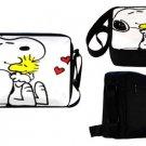 Snoopy Woodstock Hearts Messenger Bag/ 1632