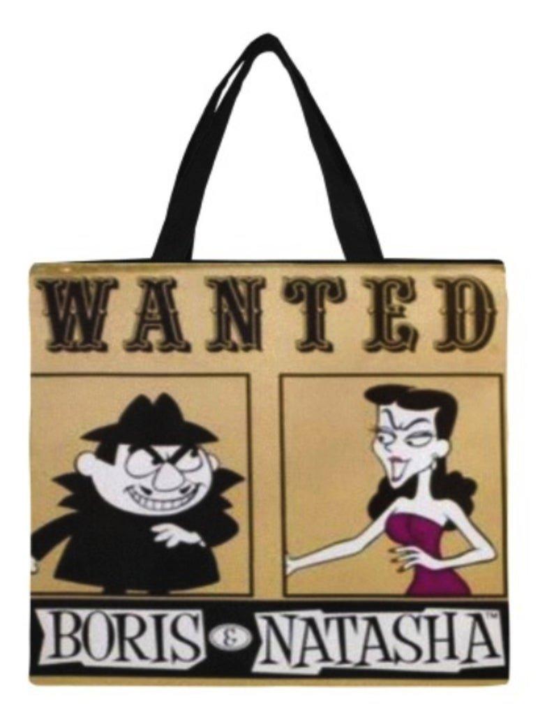 Wanted Boris / Natasha Canvas Tote Bag/ 1699