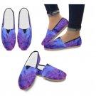 Purple / Blue Tie Dye Casual Shoes