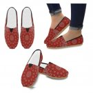 Red Bandanna Casual Shoes
