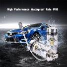 2Pcs H3 LED Fog Light 100W Super Bright CREE Chips Car Driving Bulb White 12/24V