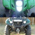 2PC Xenon White 100W H6M P15D ATV Honda Kawasaki Yamaha LED Headlight Bulbs