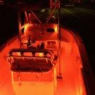 4PC Boat Accent Light Waterproof LED Lighting Strip Marine Light 12 Volt Amber