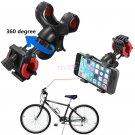 Adjustable Motorcycle Bicycle MTB Bike Handlebar Mount Holder For Cell Phone GPS