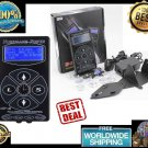 Newest Professional HP-2 Hurricane Tattoo Power Supply Digital Dual LCD Display