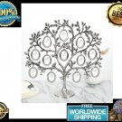 Family Tree Hanging Photo Picture 12 Frame Holder Table Top Desk Display Decor