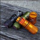"3.6"" Waterproof Emergency Gear Survival Lighter Kit Gear Storm Matches/Key chain"