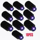 10pcs Compound Bow Fiber Optic LED Bow Sight Light 3/8-32 Thread Universal Light