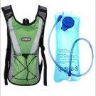 2L Cycling Riding Hiking Bag+ Water Bladder Hydration Camelbak Backpack Green