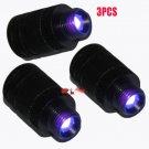 3pcs Compound Bow Fiber Optic LED Bow Sight Light 3/8-32 Thread Universal Light