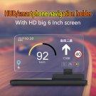 """6"""" Car HUD Holder Head Up Display Projector Bracket For GPS Navigation Phone"""