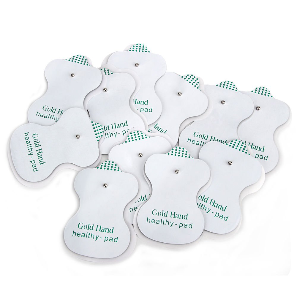50pcs Electrode Pads Electrodes For Tens Acupuncture Digital Therapy Massager