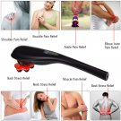 Cordless Handheld Massager Rechargeable Percussion Massage 5 Vibrating Types