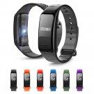 Smart Bluetooth Blood Pressure Bracelet Heart Rate Monitor Fitness Tracker Watch