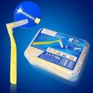 L Shape Push-Pull Toothpick Interdental Teeth Whitening ToothBrush Dental Floss