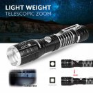 2017 LED Flashlight Torch Lamp Zoomable  2200 Lumens Tactical Military Torch