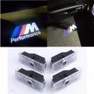 4PCS/SET BMW Puddle Lights Door Car Projector logo Shadow Laser M Sport New