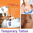 10sets A4 Inkjet/Laser Temporary Tattoo Paper Tattoo Sticker Water Decal Film