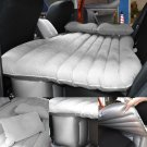 US STOCK Car Inflatable Air Cushion Seat Sleep Rest Bed Mattress Outdoor Gray