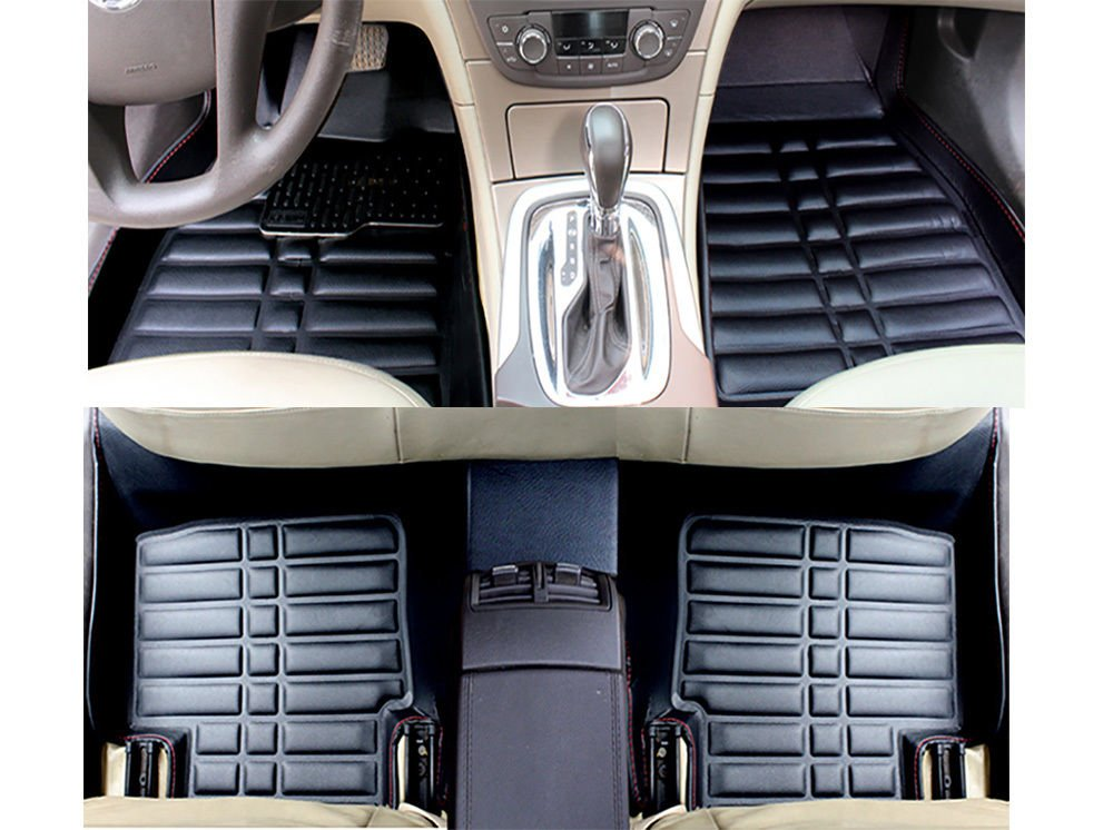 Fit For Lexus ES350 2007-2011 Auto Car Floor Mats FloorLiner Front & Rear Fly5D