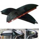 2pc Rear View Mirror Anti-rain Covers For Honda Accord 2013-2015 Set 3D Design