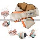 Heated Kneading Massager Neck Shoulder Back Massage Car Use Homeuse Electronics