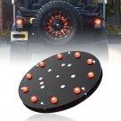 Spare Tire LED Lamp Wheel Rear 3rd Brake Decoration Light For Jeep JK Wrangler