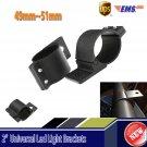 "NEW 2x 2"" LED WORK LIGHT BAR MOUNTS CLAMPS BULL BAR MOUNTING BRACKETS 49~51mm"