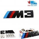 1x Metal M-Power Type ///M3 Logo Badge Decal Sticker Emblem Car tail Logo